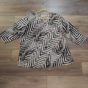 Susan Graver stylish blouse